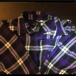 OP Purple Plaid